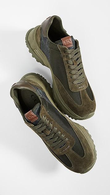 Coach New York C155 Wildbeast Paneled Runner Sneakers