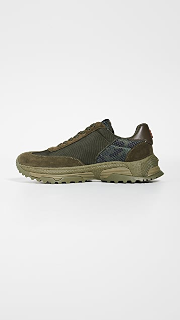 Coach New York C155 Wildbeast Paneled Runner Sneakers