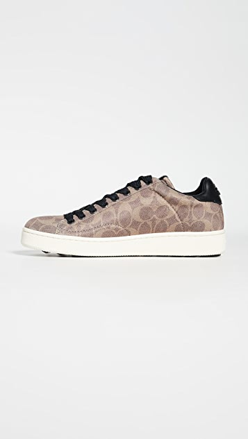 Coach New York Neoprene Signature C101 Low Top Sneakers