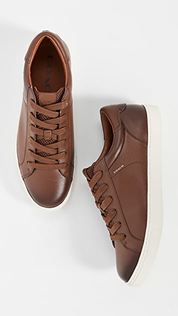 Coach New York C126 Burnished Low Top Sneakers