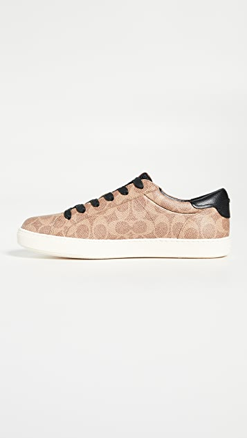 Coach New York C126 Signature Low Top Sneakers