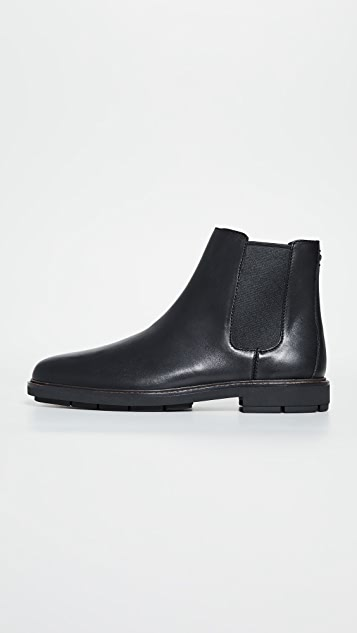 Coach New York Leather Chelsea Boots