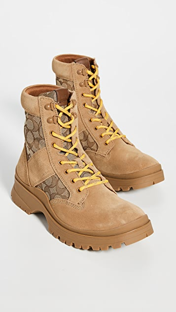 Coach New York Utility Boots