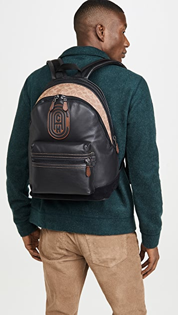 Coach New York Coach Patch Academy Backpack