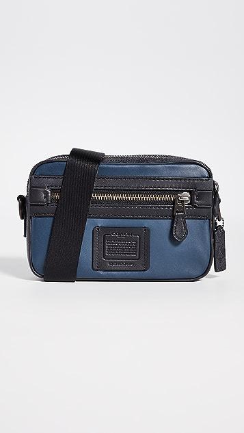 Coach New York Signature Blocking Academy Crossbody Bag