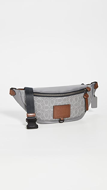 Coach New York Signature Rivington Belt Bag