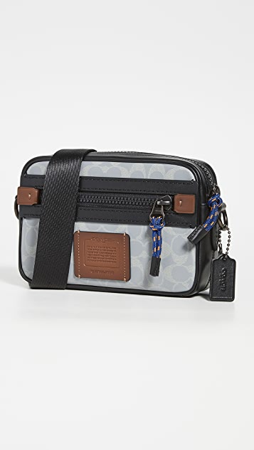 Coach New York Signature Academy Crossbody Bag