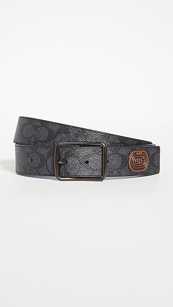 Coach New York CTS Reversible Harness Belt 38mm