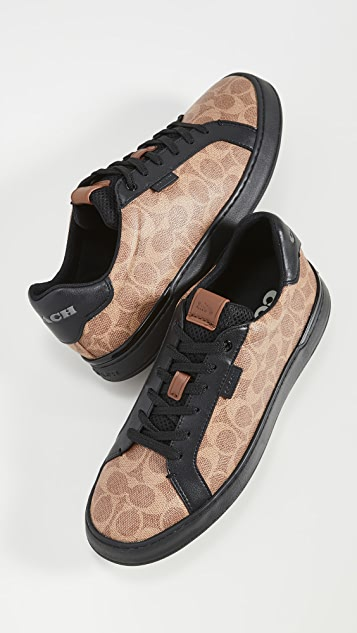 Coach New York Signature Tennis Cup Sole