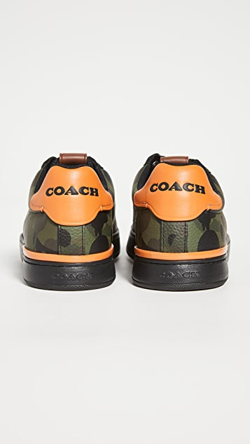 Coach New York Wildbeast Tennis Cup Sole Sneakers