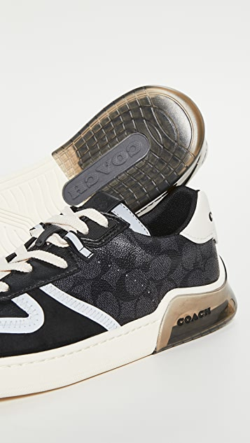 Coach New York CitySole Signature Tech Court Sneakers