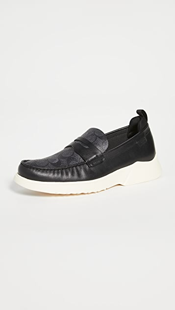 Coach New York Signature Hybrid Loafers