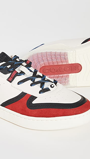 Coach New York CitySole Colorblock Court Sneakers