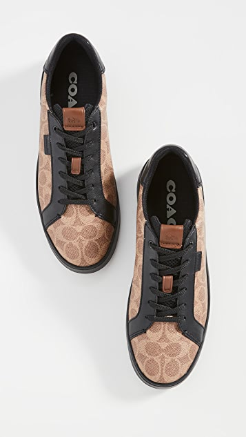 Coach New York Lowline Signature Low Top Sneakers