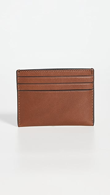 Coach New York Sport Calf Card Case