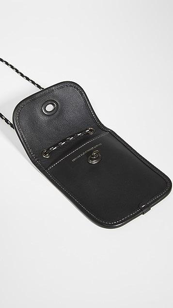 Coach New York Turnlock Pouch in Glovetan Leather