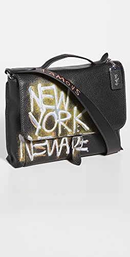 Coach New York - X Jean-Michel Basquiat Rogue Messenger Bag