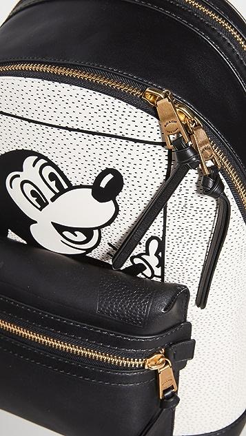 Coach New York X Disney Keith Haring Mickey Academy Backpack