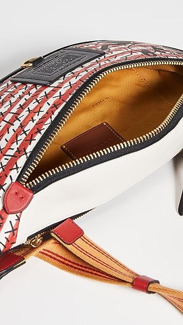 Coach New York X Disney Keith Haring Rivington Belt Bag