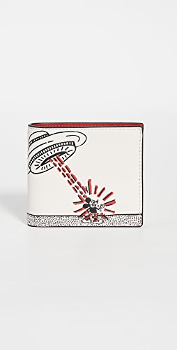 Coach New York - X Disney Keith Haring Double Billfold Wallet