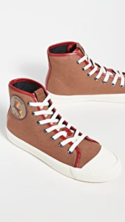 Coach New York High Top Sneakers
