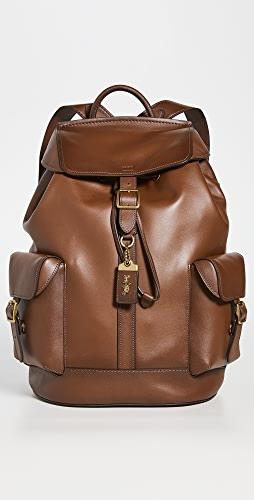 Coach New York - Leather Backpack
