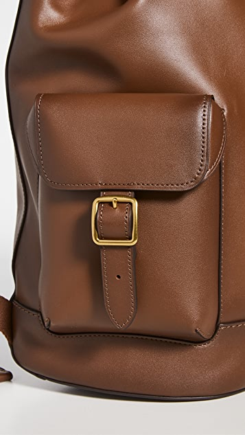 Coach New York Leather Backpack