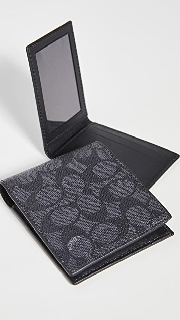 Coach New York 3-In-1 Wallet