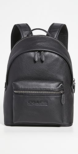 Coach New York - Charter Backpack in Refined Pebbled Leather