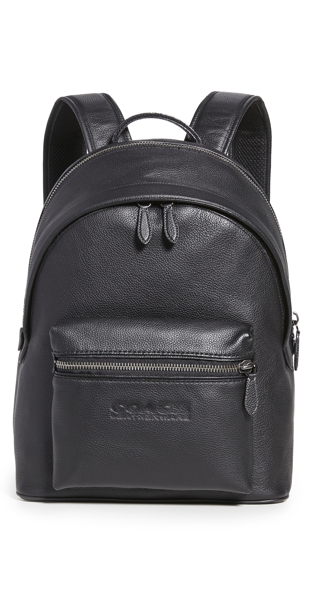 Charter Backpack in Refined Pebbled Leather