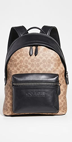 Coach New York - Signature Charter Backpack