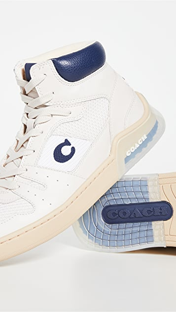 Coach New York Citysole High Top Sneakers