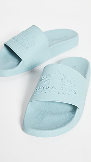 Coach New York Coach 3D Logo Slides