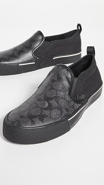 Coach New York CitySole Skate Sneakers