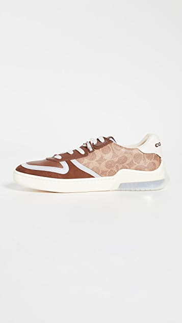 Coach New York CitySole Signature Court Sneakers