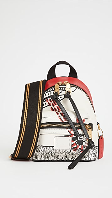 Coach New York Disney x Keith Haring Academy Backpack 15