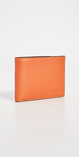 Coach New York - Slim Billfold in Colorblock Leather