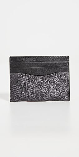 Coach New York - Flat Card Case in Signature Leather
