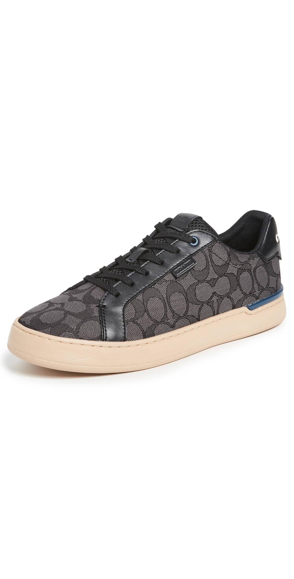 Lowline Signature Jacquard Low Top Sneakers