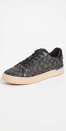 Coach New York - Lowline Signature Jacquard Low Top Sneakers