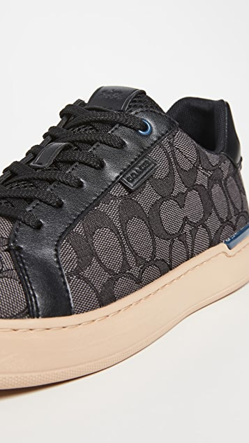 Coach New York Lowline Signature Jacquard Low Top Sneakers