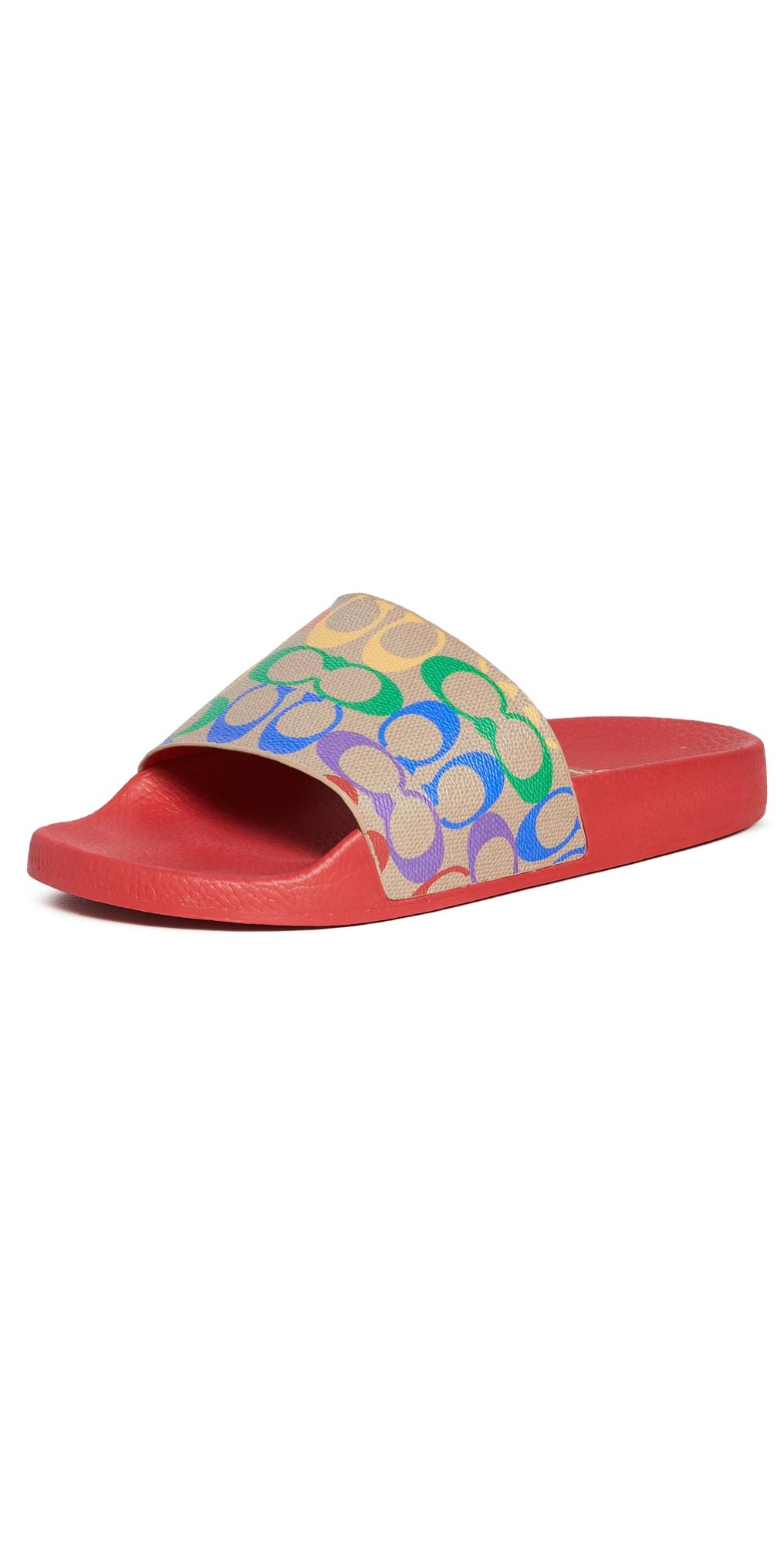 Rainbow Pool Slides