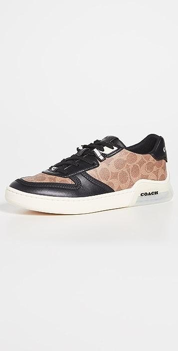 Coach New York CitySole Signature Court Sneakers