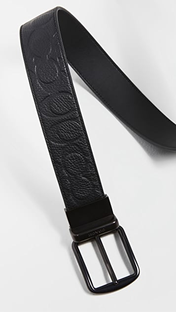 Coach New York 38mm Leather Belt