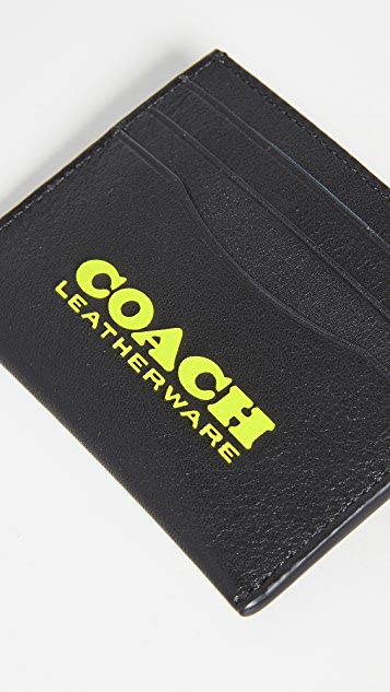 Coach New York Flat Card Case