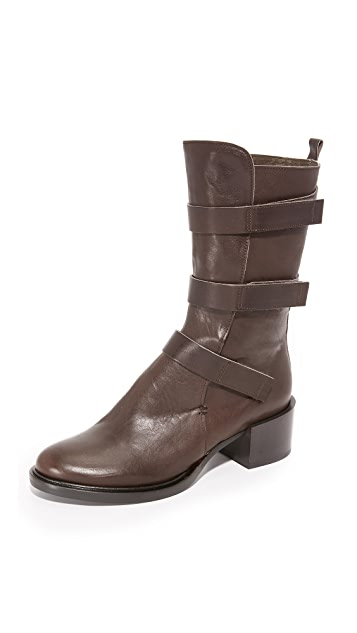 Coclico Shoes Mabel Multi Strap Boots