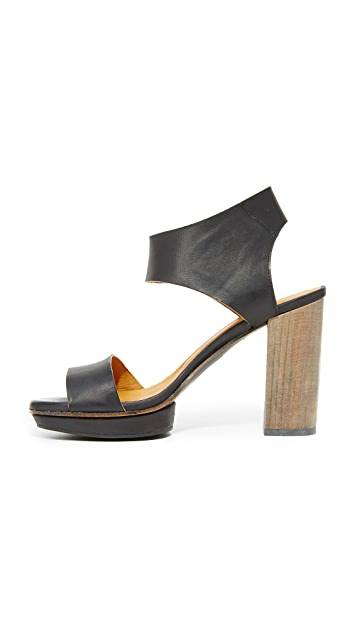 Coclico Shoes Leggy Platform Sandals