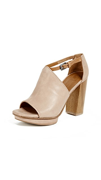 Coclico Shoes Leash Platform Sandals