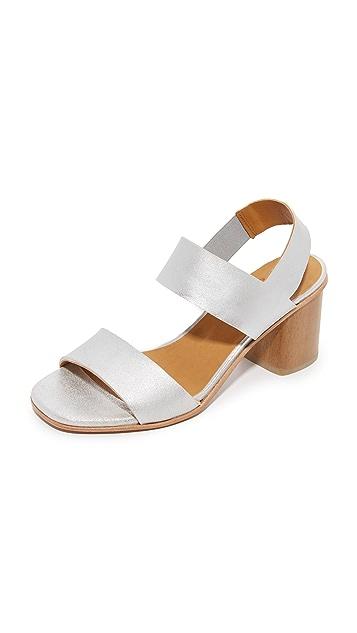 655d07b49 Coclico Shoes Bask Metallic Sandals