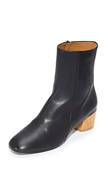 Coclico Shoes Cally Booties - Black